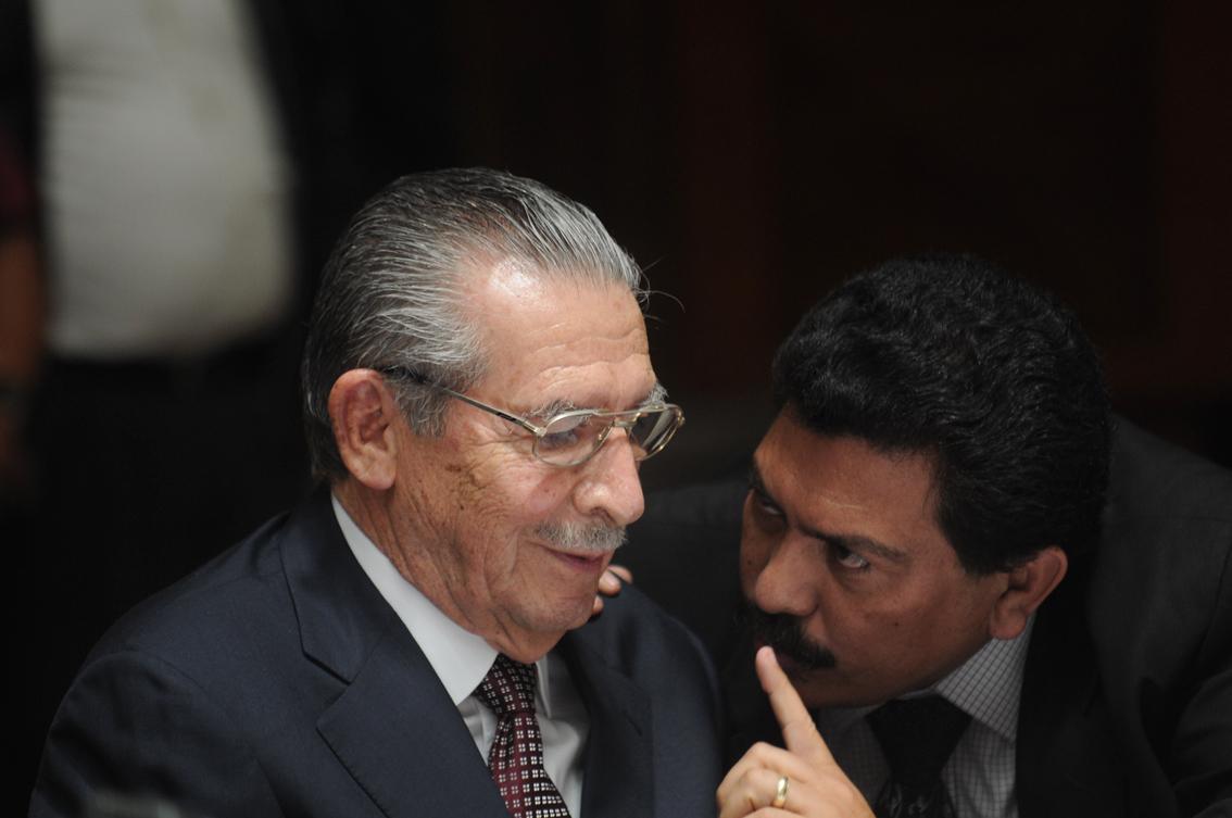 Francisco García Gudiel fue desde un inicio el abogado defensor de Efraín Ríos Montt.