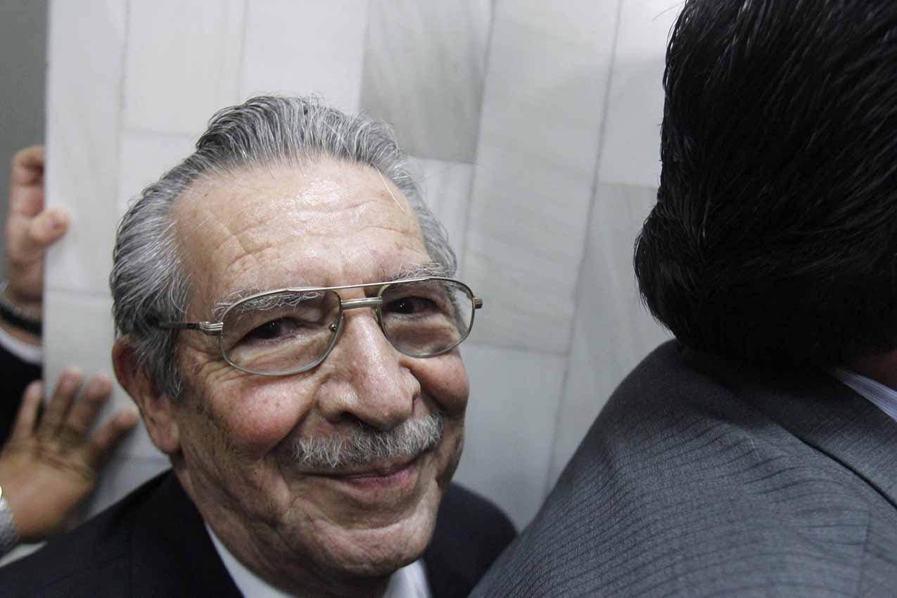 Efraín Ríos Montt iniciará junto a Rodríguez, su última batalla.