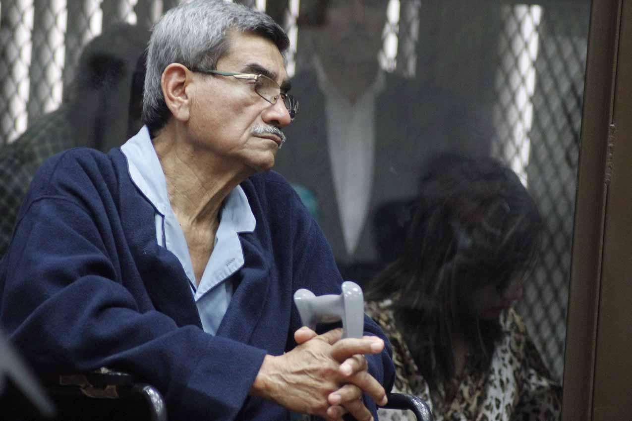 José Rodríguez Sánchez durante la resolución del juez.