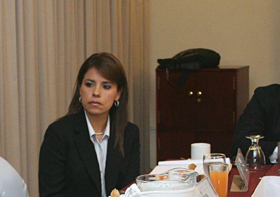 Raquel Vielman de Alcazar, Secretaria de Bienestar Social.