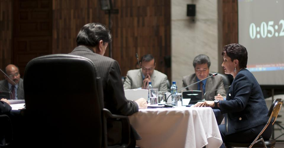 Aldana se ha presentado en cuatro ocasiones como candidata a ocupar cargos de alta jerarquía en el sistema de justicia del país ante comisiones de postulación.