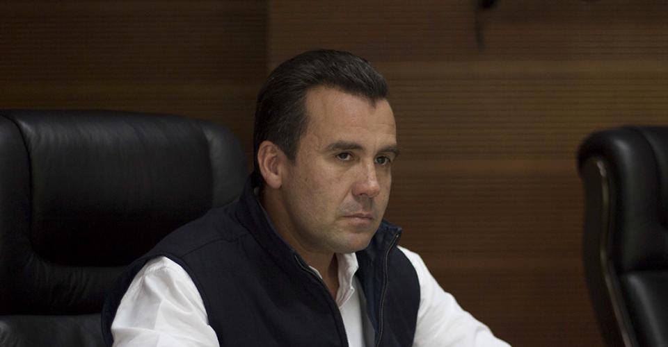 Alejandro Sinibaldi, ex ministro de Comunicaciones y precandidato del partido oficial.