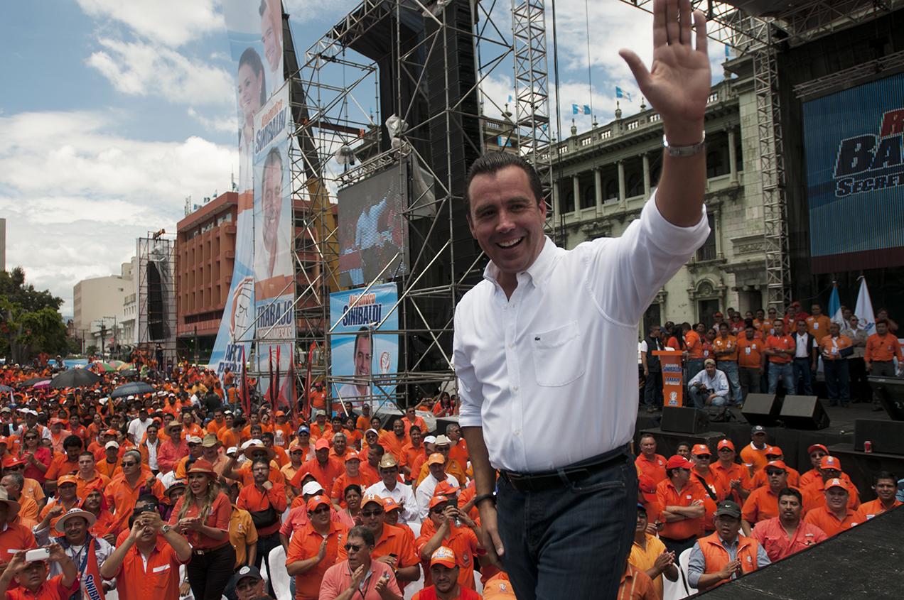 Alejandro Sinibaldi es el candidato presidencial del Partido Patriota.
