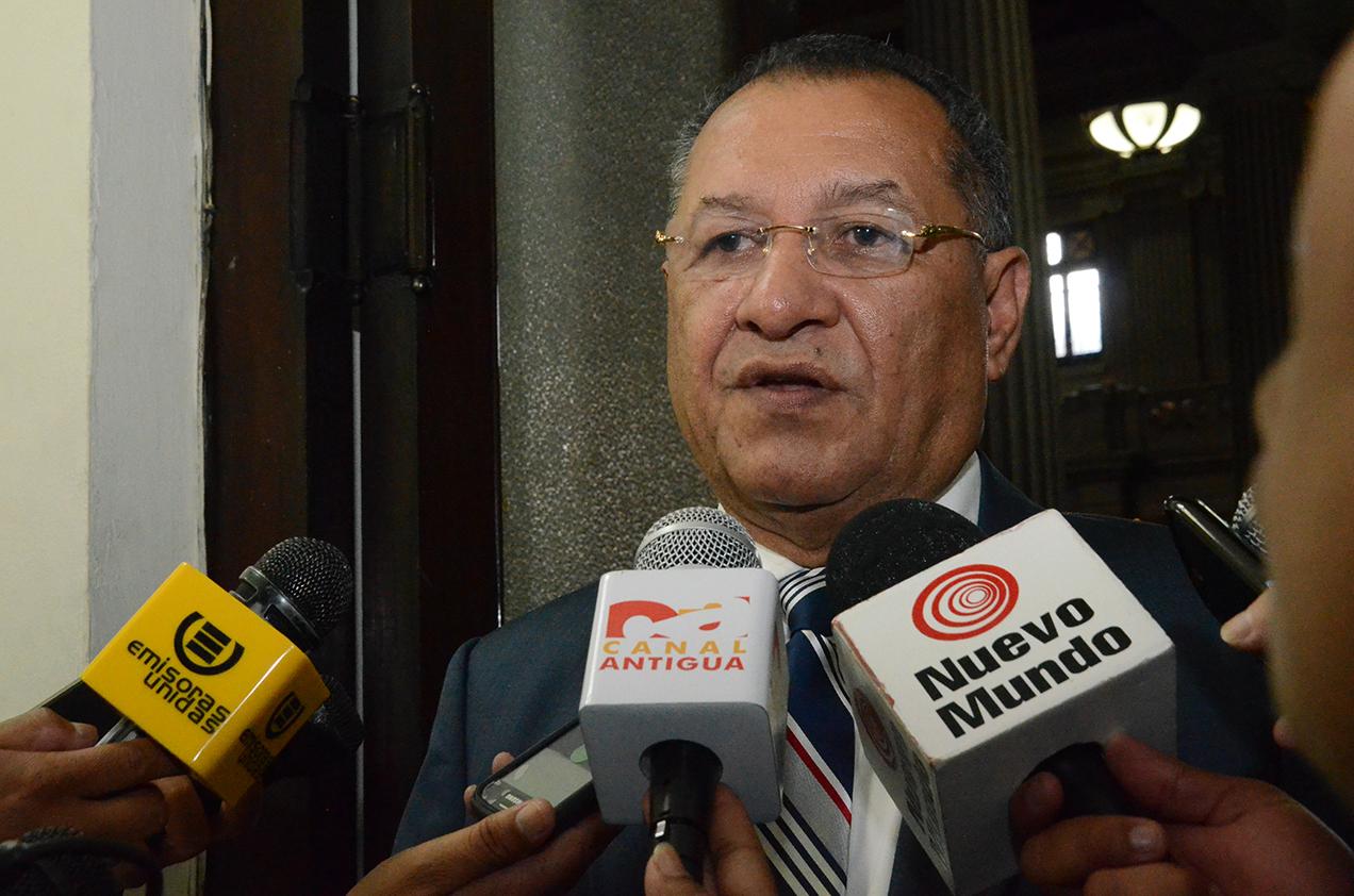 Durante el período de Arístides Crespo fue aprobado el presupuesto para este año.