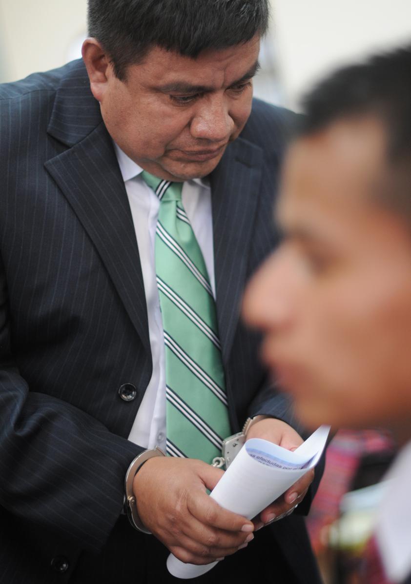 El coronel Juan Chiroy.