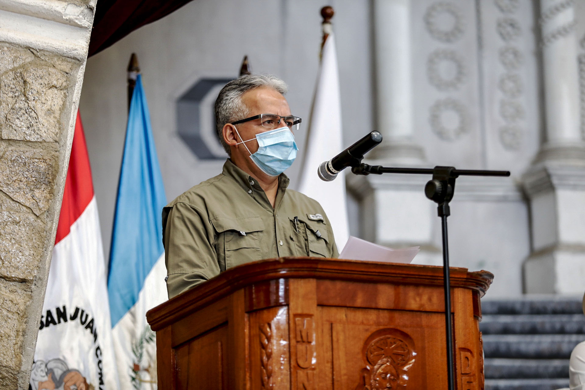 Guillermo Estrada/Presidencia