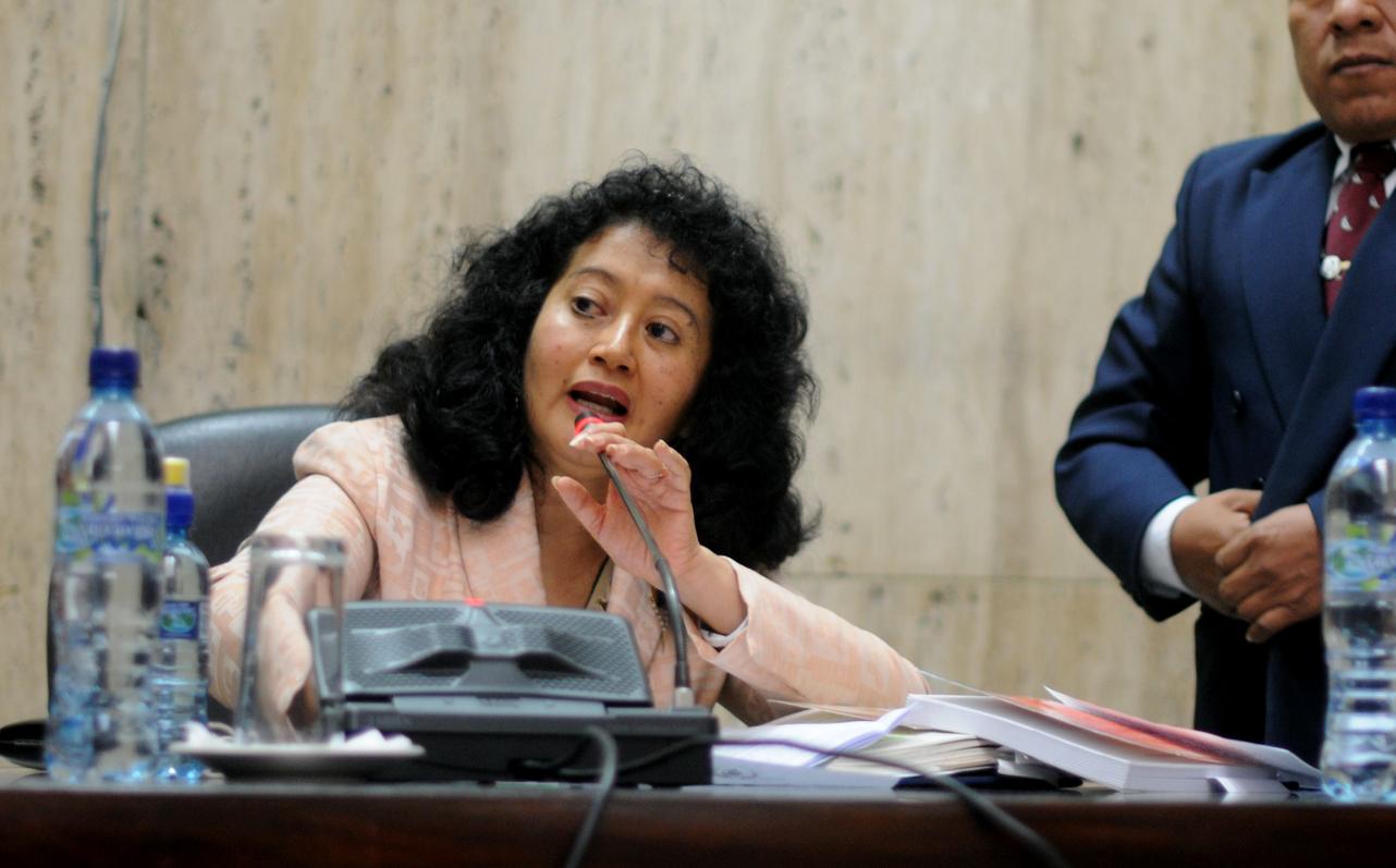 Yassmín Barrios se excusó de seguir litigando el caso.