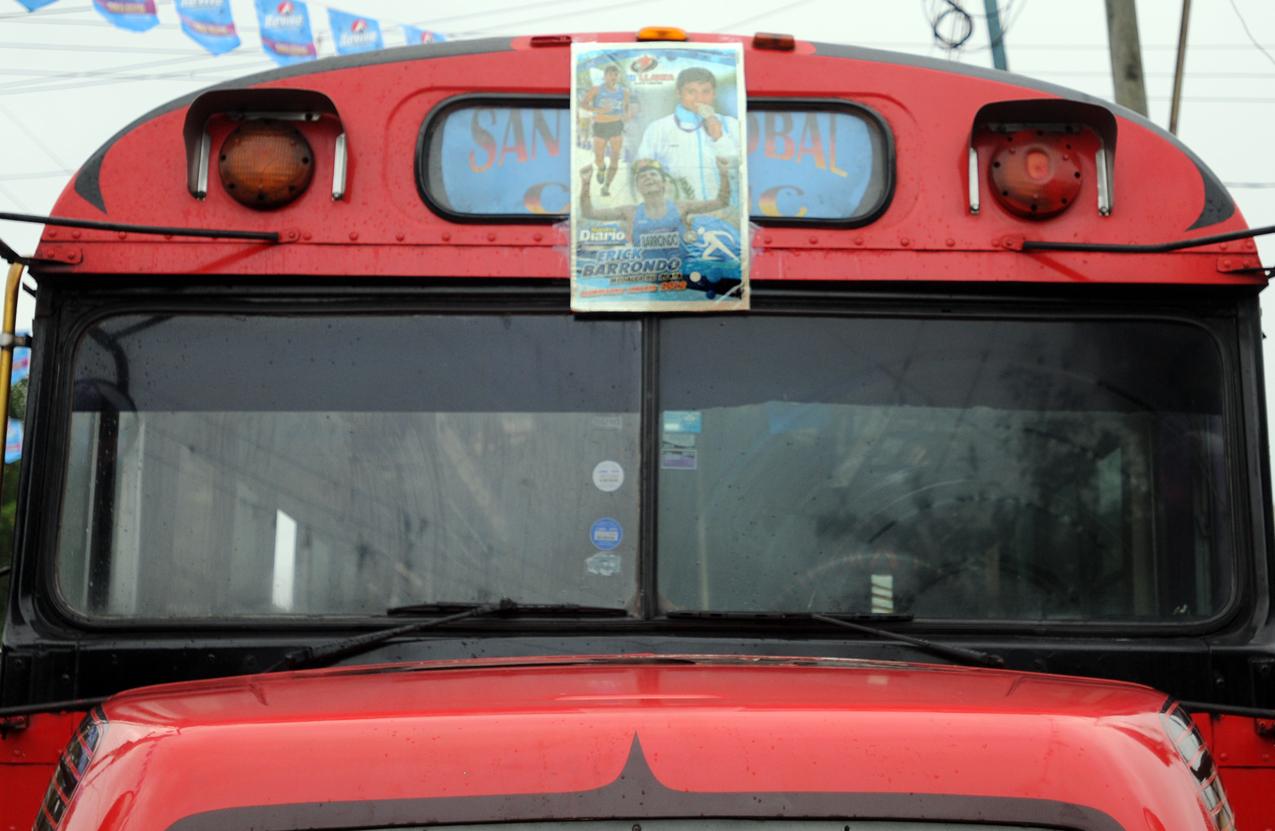El bus que llega a San Cristóbal.