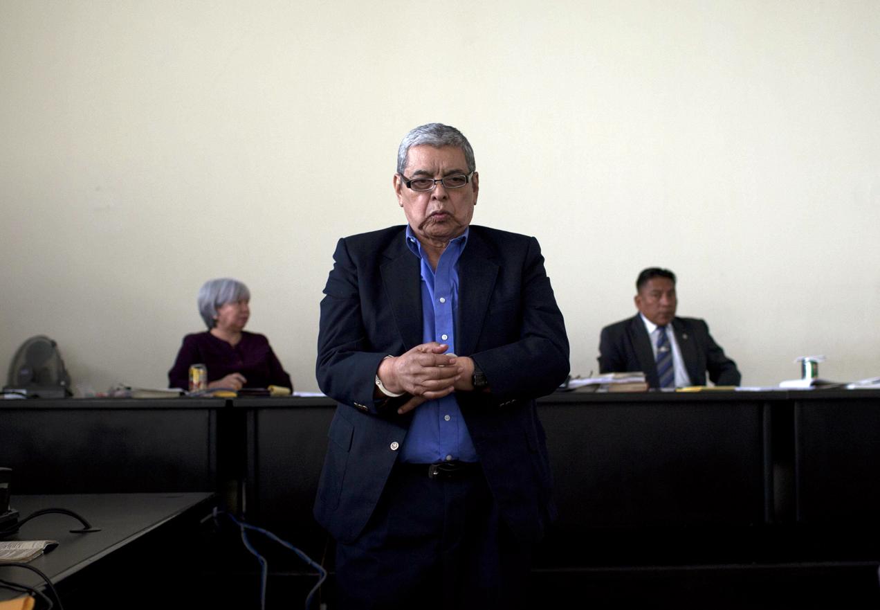El coronel retirado Héctor Bol de la Cruz fue condenado a 40 años de prisión por la desaparición forzada del dirigente sindical y estudiantil, Edgar Fernando García.