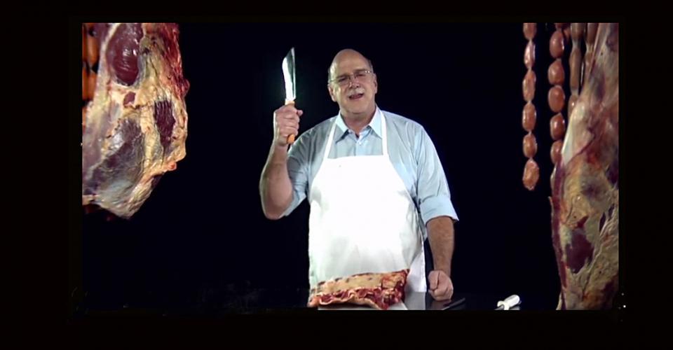 """""""Un bisturi, qué ridículo.Necesitamos un hacha de carnicero""""."""
