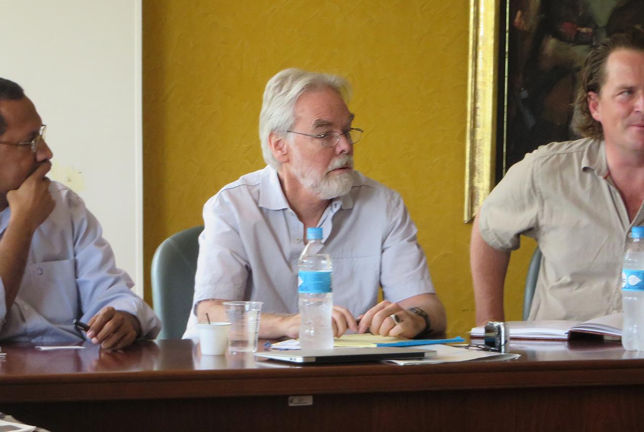 Robert Moran, hidrólogo y geoquímica estadounidense.