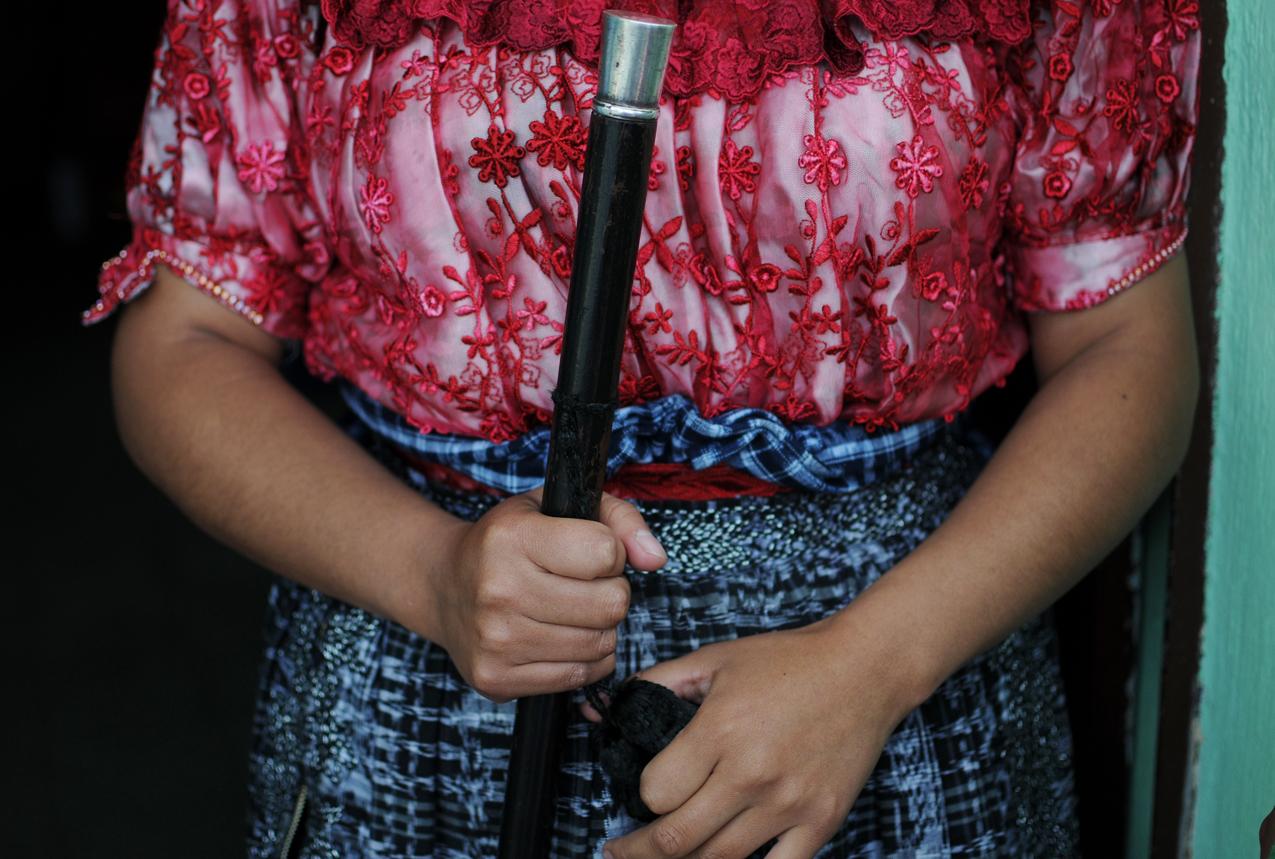 Carmen Tacám es la primera mujer en la historia que logró acceder a este cargo ancestral.