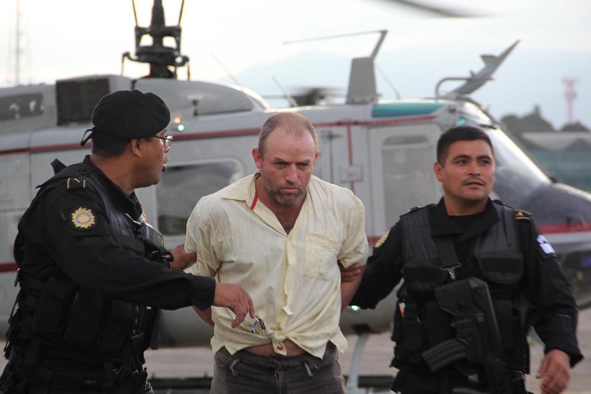 Uno de nueves presuntos responsables del asesinato de los agentes en Salcajá.