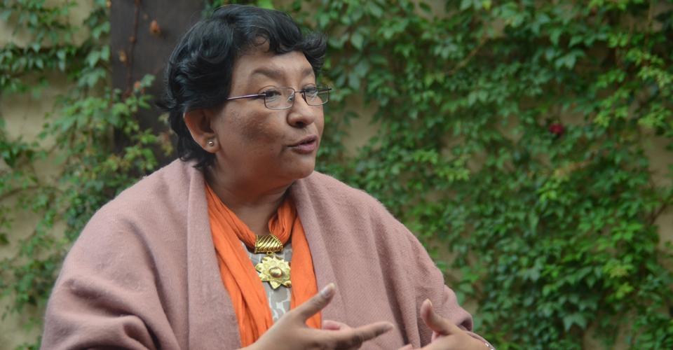 Carmen Aída Ibarra. Fotografía de Antonio Castro