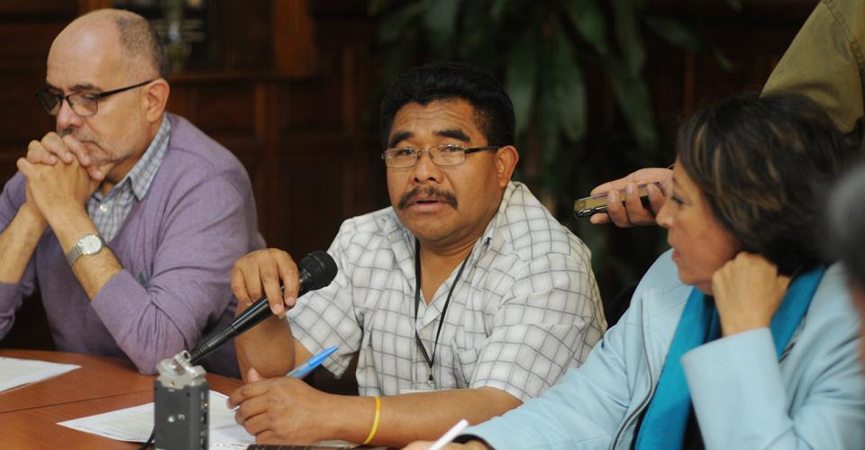 Lorenzo Mateo Francisco denunció el cierre de la radio comunitaria Snuq' Jolom Konob' que opera en Santa Eulalia, Huehuetenango.