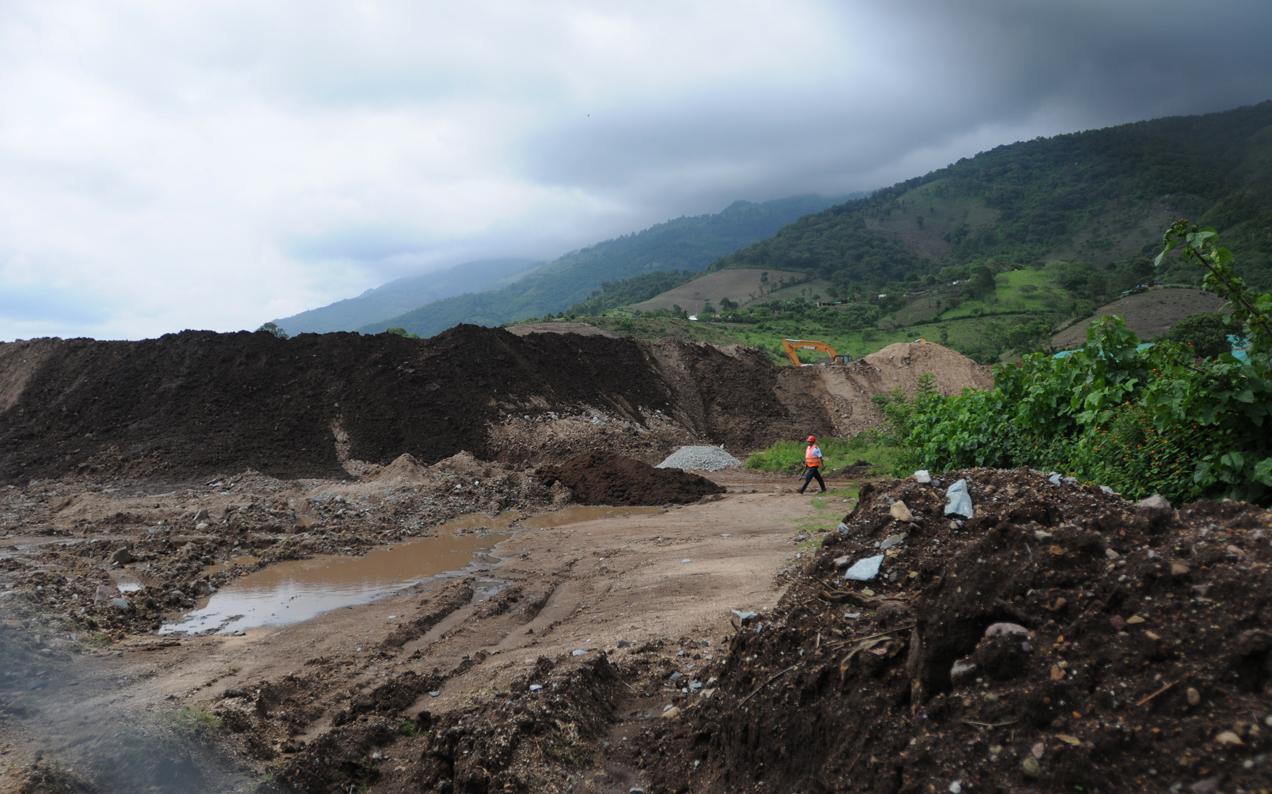 Pobladores de San Rafael Las Flores rechazan las operaciones de la empresa minera.