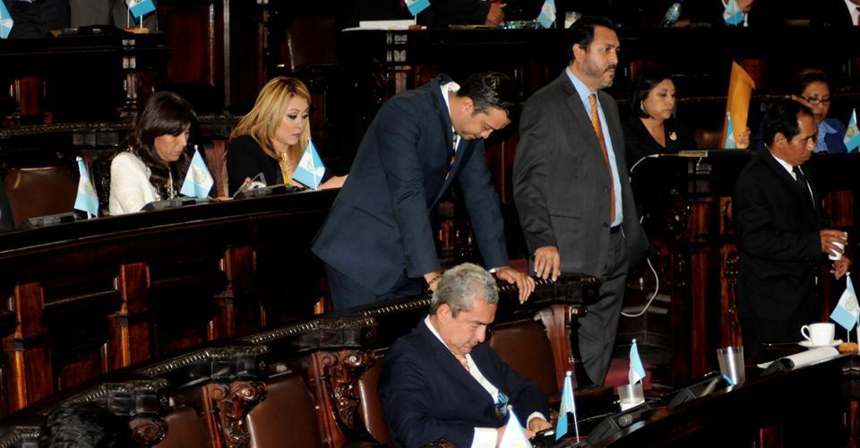 Los diputados del Partido Patriota (PP) no pudieron evitar esconder su decepción por el revés de su máximo líder.