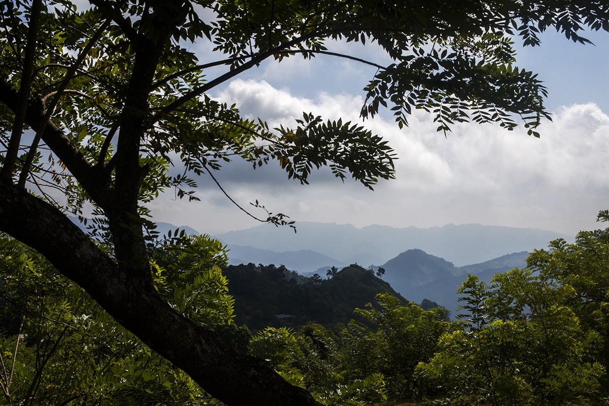 La montaña alrededor de Salac, al atardecer, observa el cierre del proceso de consulta de buena fe que involucró a más de 24.000 personas en todo el territorio