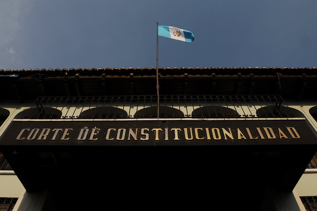 El edificio de la Corte de Constitucionalidad.
