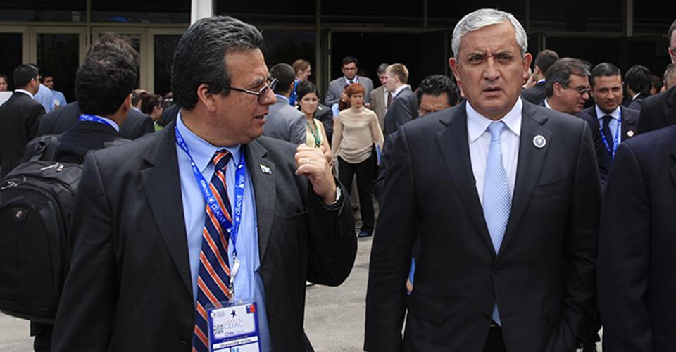 Francisco Cuevas promovió la imagen del Presidente o de otros funcionarios, como Alejandro Sinibaldi o Mauricio López Bonilla