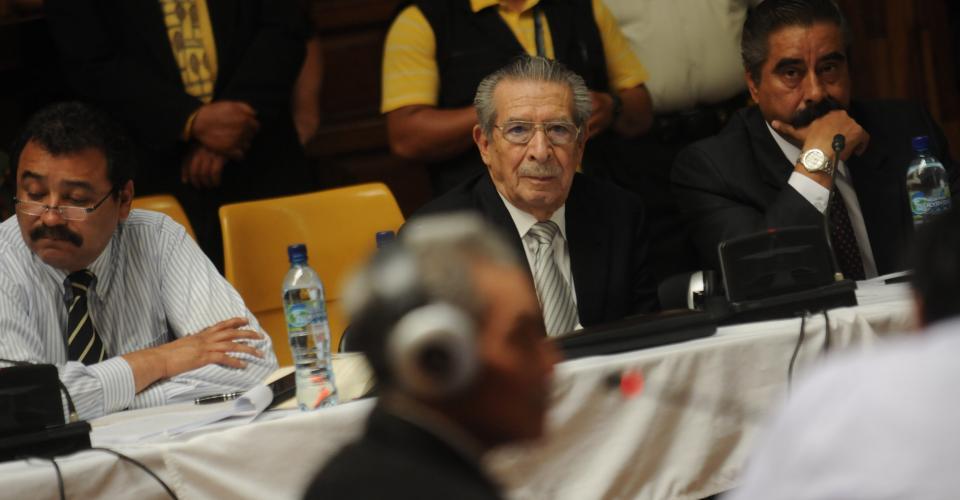 Además de Chávez Brito, han fallecido otros testigos que declararon en el juicio contra Efraín Ríos Montt.