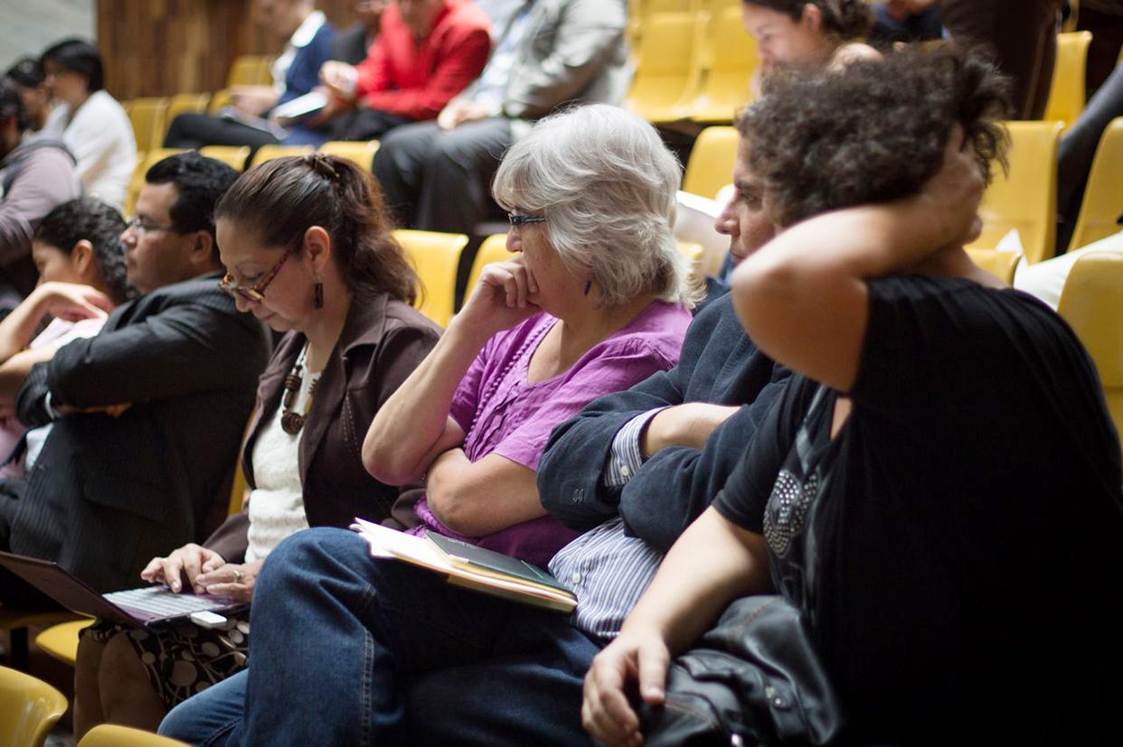 Representantes de la sociedad civil asistieron a observar el proceso.
