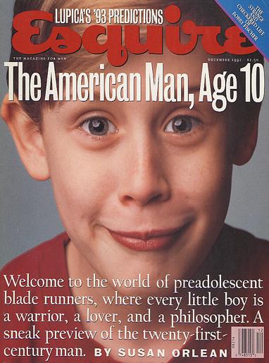 Esquire. Diciembre 1992.