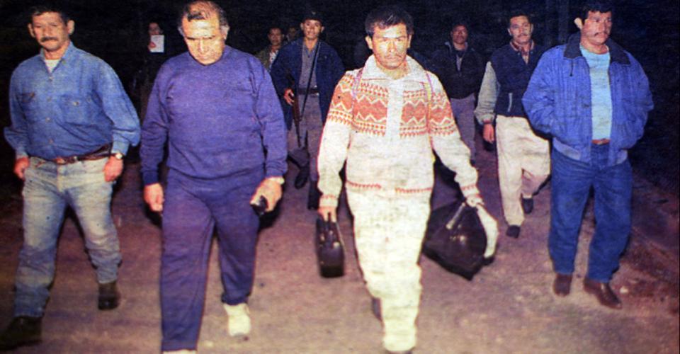 Manuel Martínez Coronado, condenado a la pena capital, a su ingreso al módulo letal.