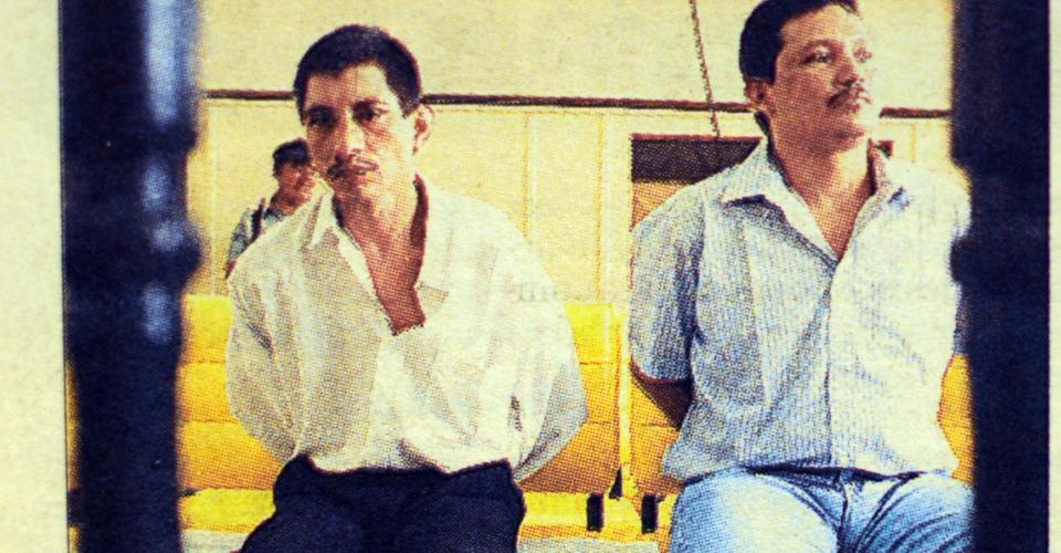 Los reos Luis Amilcar Cetino y Tomás Cerrate, acusados de secuestro, fueron los últimos reos sentenciados a la pena de muerte.