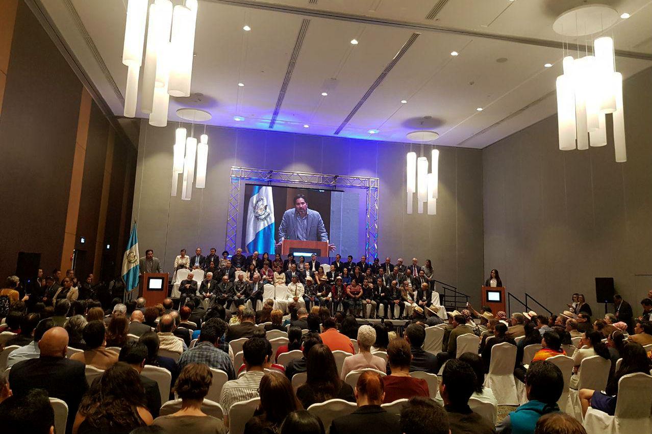 Presentación del Frente Ciudadano contra la Corrupción