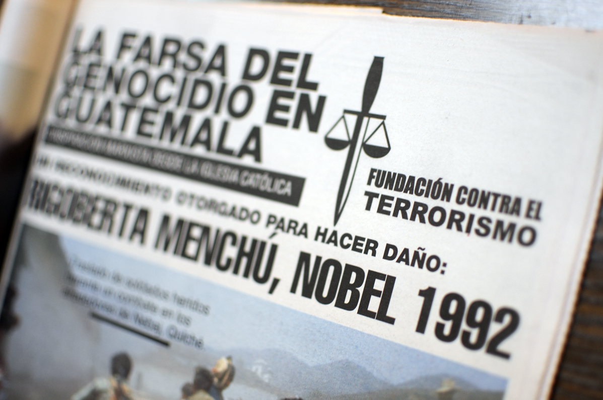 Campo pagado por la Fundación contra el Terrorismo.