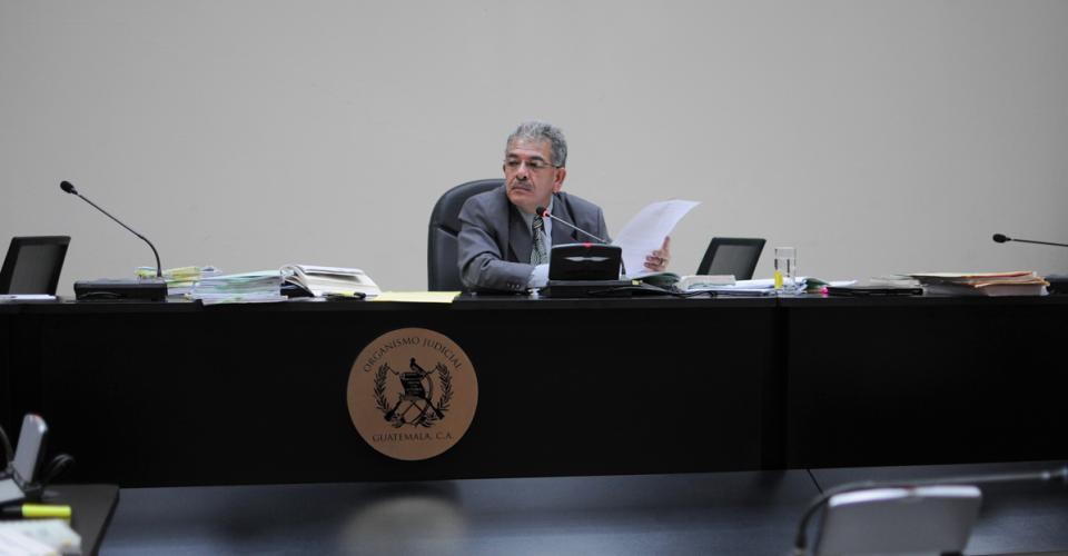 El juez Miguel Ángel Gálvez rechazó peritajes, testigos y documentos por parte de la defensa durante la audiencia de ofrecimiento de las pruebas que entrarían al debate.