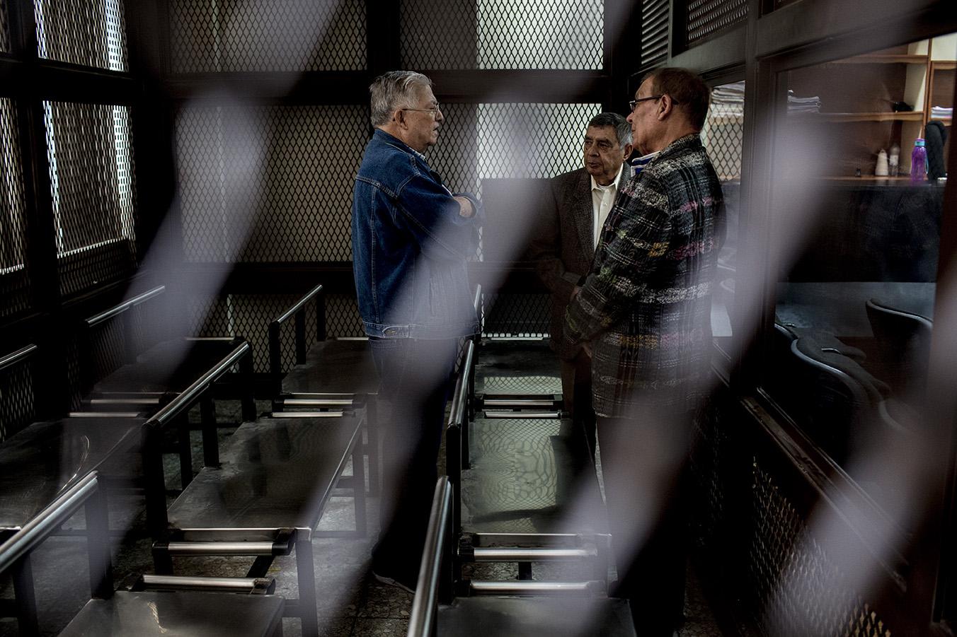 César Octavio Noguera, Manuel Callejas y Benedicto Lucas, mas de 200 años en tres, serán los protagonistas de un nuevo caso histórico para todo el País/Simone Dalmasso