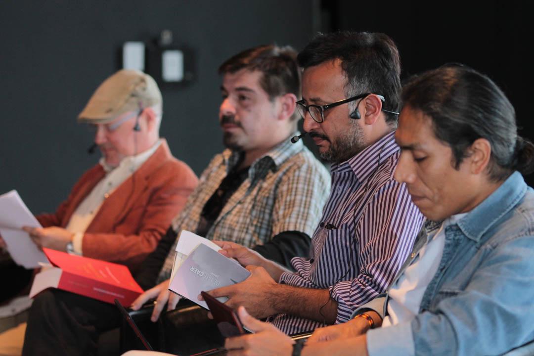 Más de 20 poetas del mundo participaron en este encuentro, ente ellos Javier Payeras, poeta guatemalteco, con ocho ibros de poesía y narrativa.