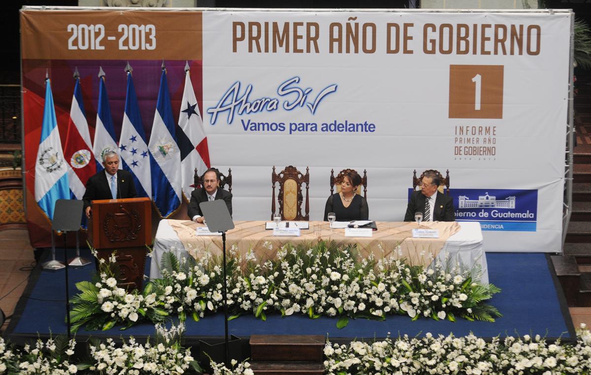 Los presidentes de los tres poderes del Estado.
