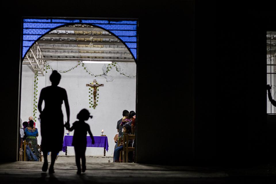 Misa en Santa María Tzejá