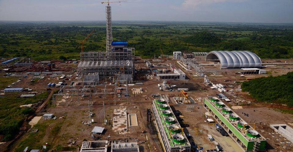 Panorámica de la planta de Jaguar Energy.