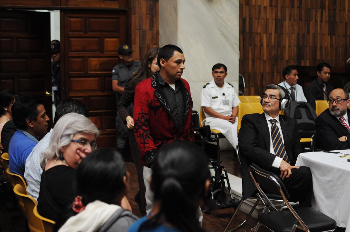 El segundo testigo, Bernardo Bernal Gusal.
