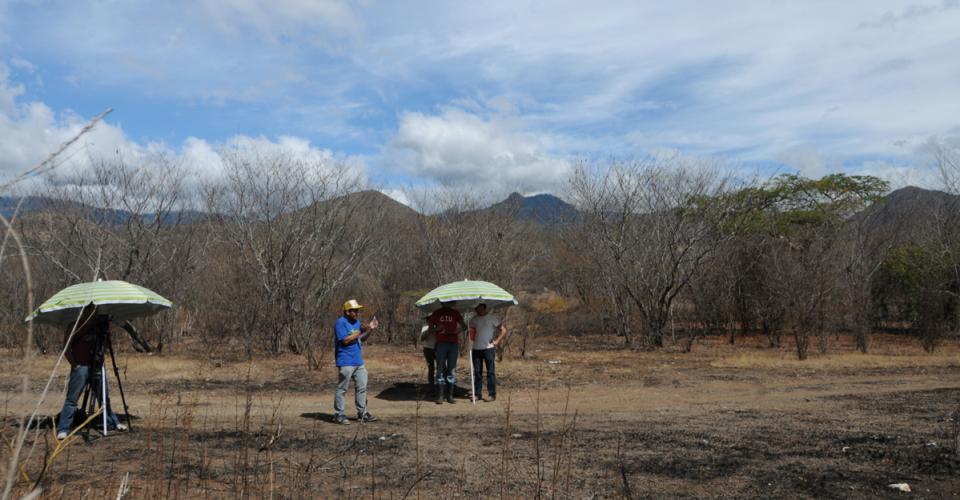 sobre el desierto guatemalteco.