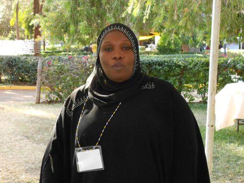 """""""El ambiente no es propicio para las mujeres"""", dijo a IPS la líder política Hamisa Zaja.   Crédito: Miriam Gathigah/IPS"""