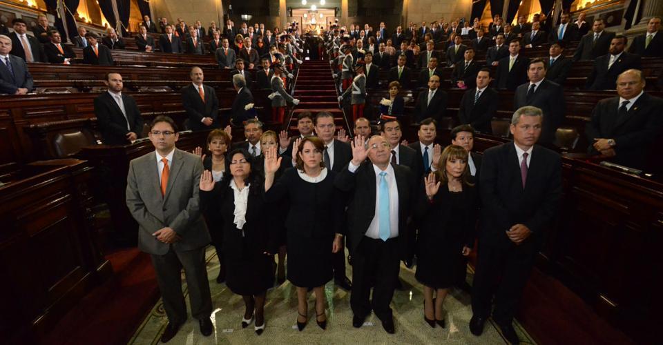 Juramentación de los nuevos magistrados a la CSJ. Foto: Antonio Castro