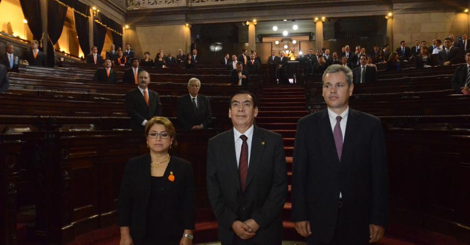 Josué Felipe Baquiax, es el nuevo presidente de la Corte Suprema de Justicia. Foto: Antonio Castro