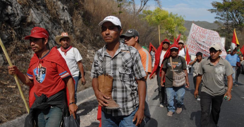 La Marcha Indígena Campesina y popular por la defensa de la Madre Tierra, contra los desalojos, la criminalización y por el Desarrollo Rural Integral, duró nueve días.