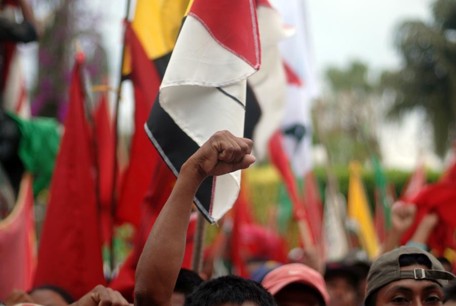 Ni siquiera ante la OIT, cuyo Convenio 169 es uno de los principales sustentos de las reivindicaciones indígenas, tienen voz los pueblos originales.
