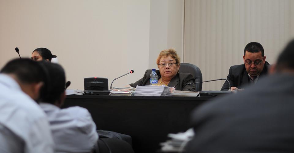 La juez Marta Sierra de Stalling está a cargo del proceso en contra de la red que defraudó al Estado a través de las aduanas.