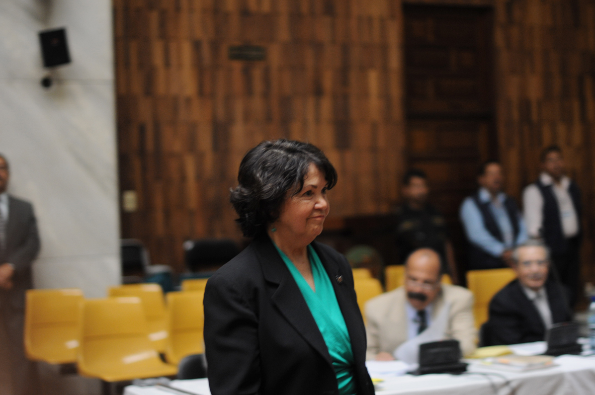 Manz documentó los desplazamientos humanos en parte de la región ixil.