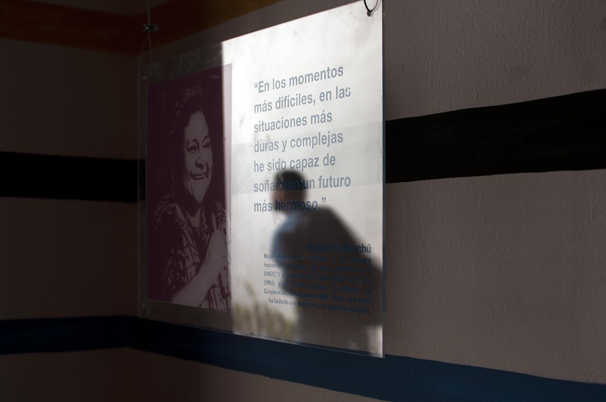 """Rigoberta Menchú: """"En los momentos más difíciles, en las situaciones más duras y complejas he sido capaz de soñar un futuro más hermoso""""."""