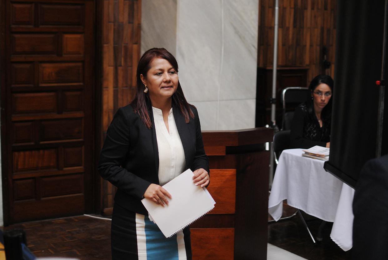 Mendizábal inicia su carrera a los 18 años como oficial de juzgado y ya graduada de abogada a los 27, continúa por trece años como litigante colaborando en sus inicios en el bufete de Telésforo Guerra, ex Fiscal General del MP y abogado controvertido.