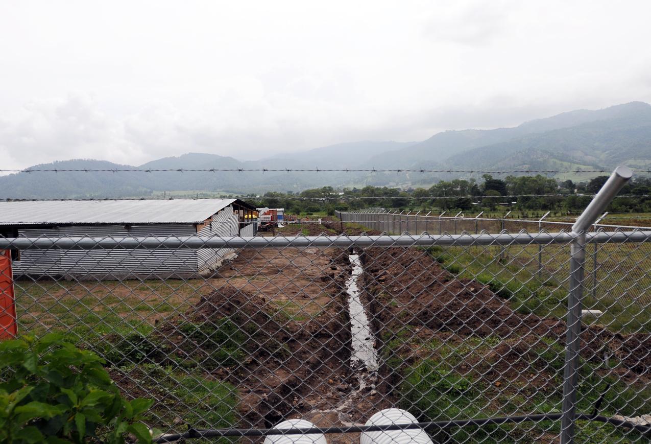 La empresa minera que se ubicó en San Rafael Las Flores.