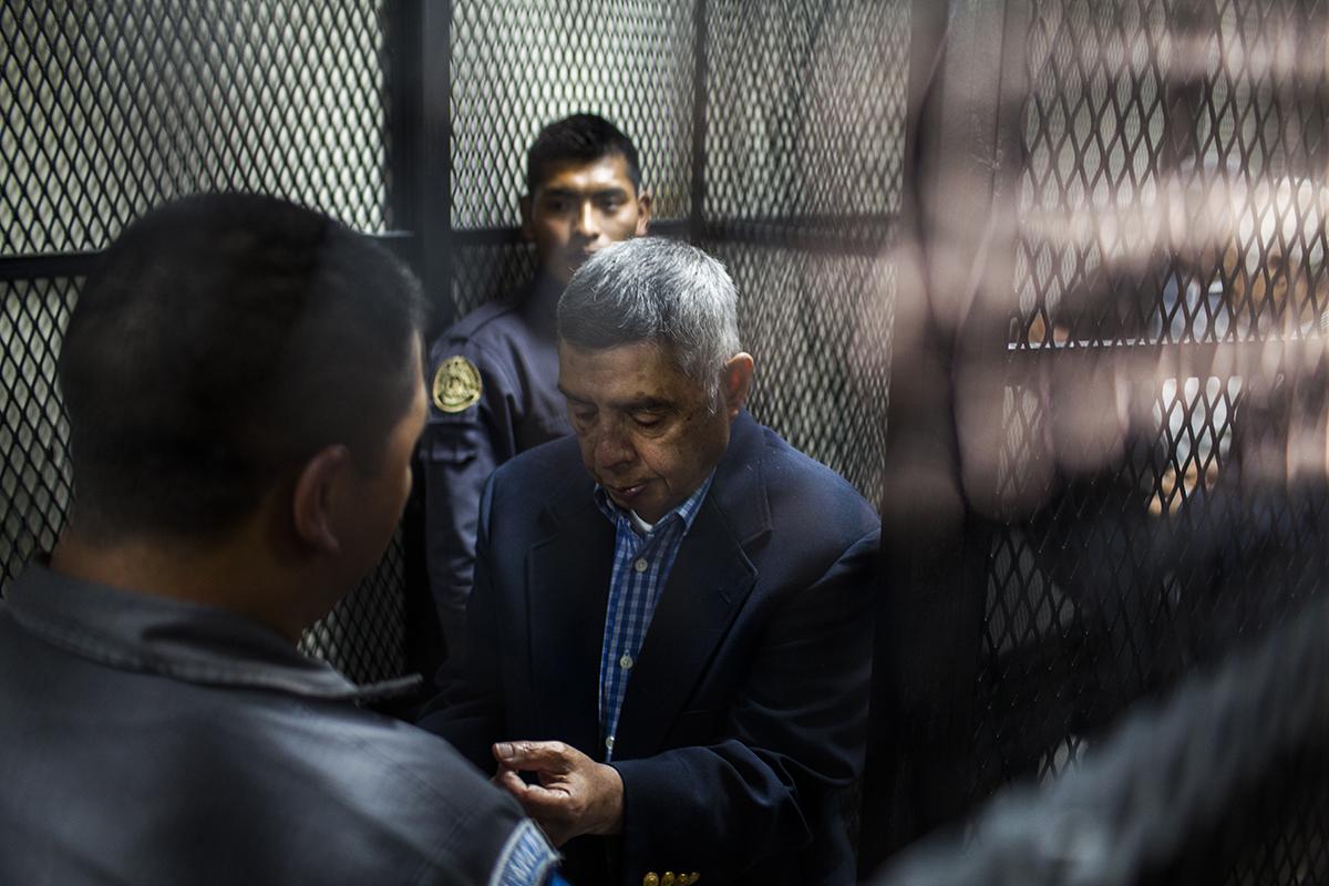 Manuel Callejas y Callejas, exdirector de Inteligencia del Estado Mayor del Ejército.